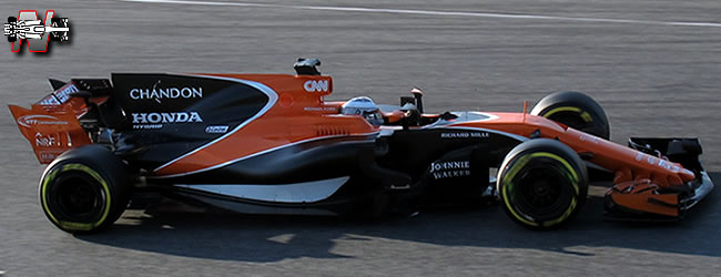 McLaren - MCL32 - 2017