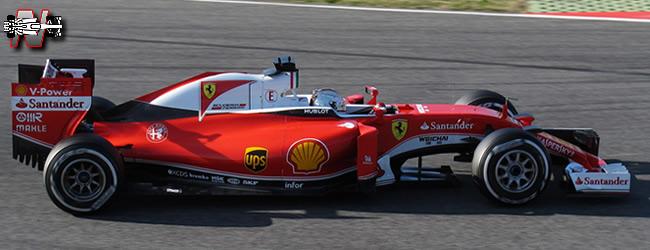 Scuderia Ferrari - SF16 - H - 2016