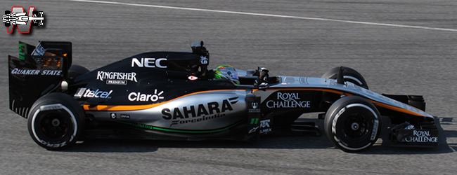 Sahara Force India -  VJM07 - 2014