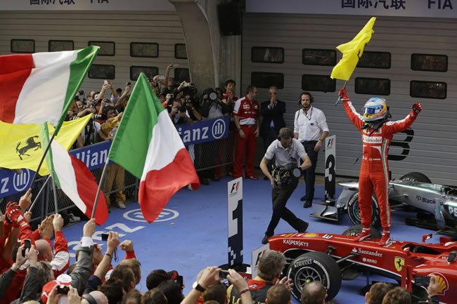 Fernando Alonso - Victoria GP China 2013
