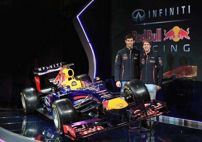 Red Bull Racing Presentación RB9