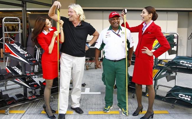 Richard Branson Apuesta Tony Fernandes