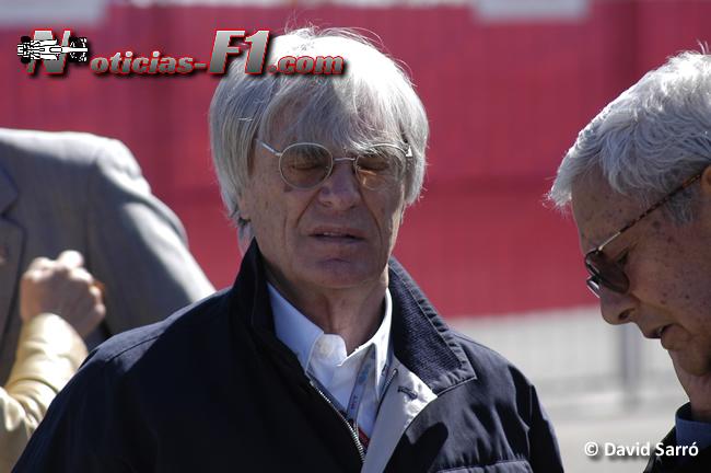 Bernie Ecclestone - Imagen: David Sarró - www.noticias-f1.com