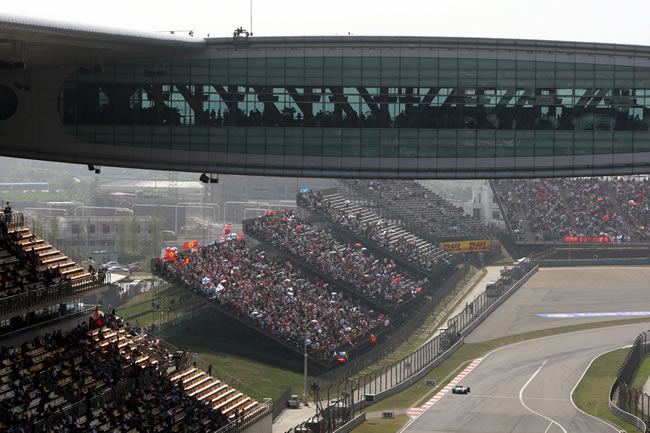 China Shanghai circuito