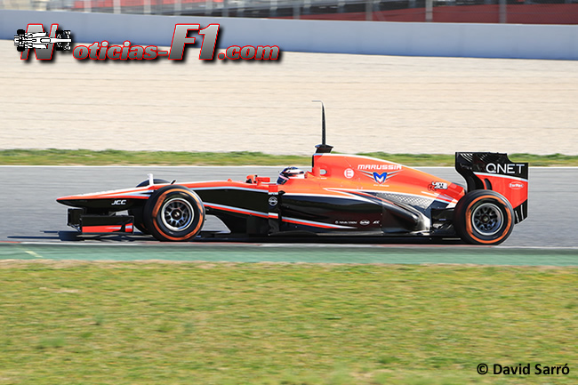 Jules Bianchi Test Barcelona - David Sarró - www.noticias-f1.com