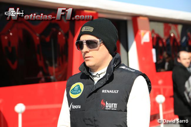 Kimi Raikkonen 2 - Test Barcelona 2013 - Imagen: David Sarró - www.noticias-f1.com
