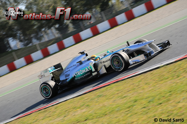 Lewis Hamilton - 2 - Test Barcelona 2013 - David Sarró - www.noticias-f1.com