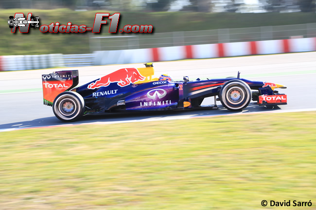 Mark Webber Test Barcelona 2013 David Sarro www.noticias-f1.com