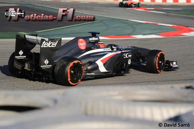 Nico Hulkenberg - Test Barcelona 2013 - David Sarró - www.noticias-f1.com