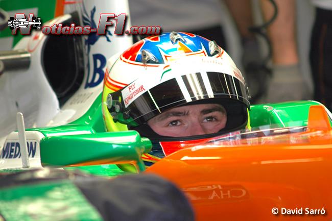 Paul Di Resta - Cockpit - David Sarró - www.noticias-f1.com