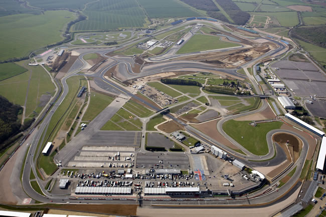 Vista Aérea Circuito de Silverstone