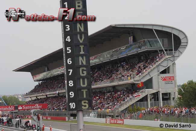 Circuit de Catalunya - Imagen: David Sarró - www.noticias-f1.com