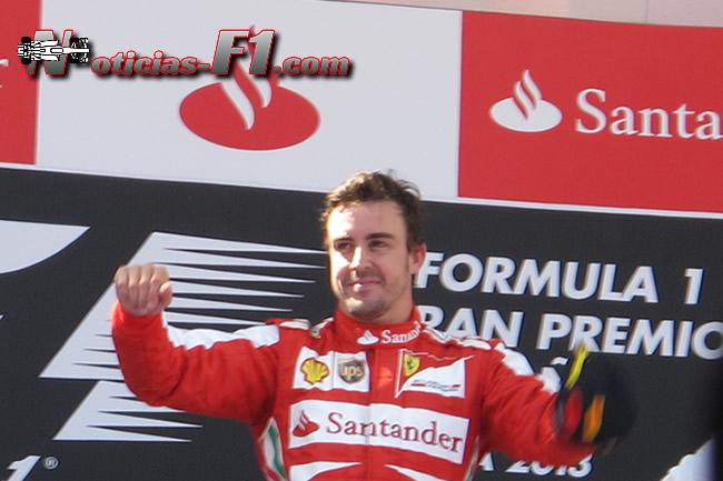 Fernando Alonso gana GP España 2013 - www.noticias-f1.com