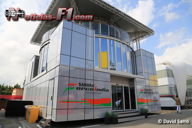 Force India MotorHome -David Sarró - www.noticias-f1.com
