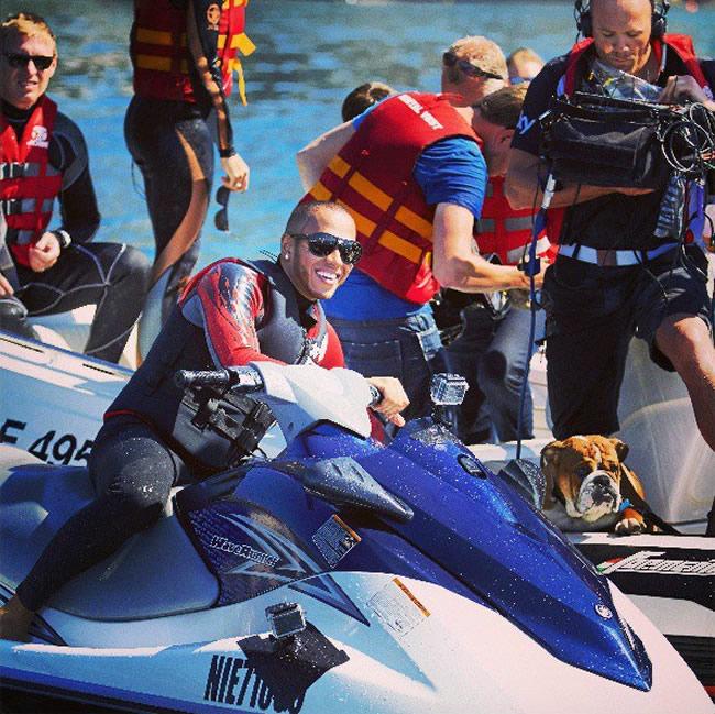 Lewis Hamilton - Motogo Agua Mónaco 2013