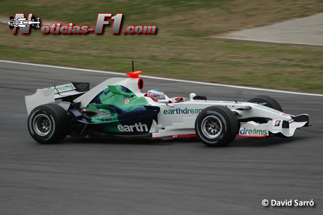 Jenson Button - Honda 2008 -  David Sarró -  www.noticias-f1.com