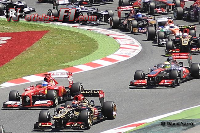 Kimi Raikkonen - Fernando Alonso - Sergio Pérez - David Sarró - www.noticias-f1.com