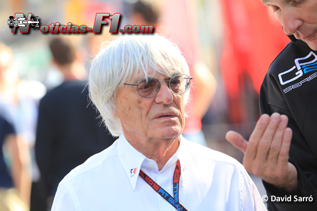 Bernie Ecclestone - David Sarró - www.noticias-f1.com