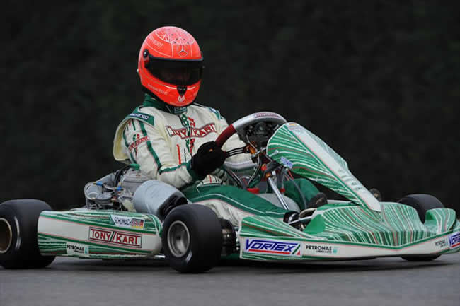 Michael Schumacher - Tony Kart