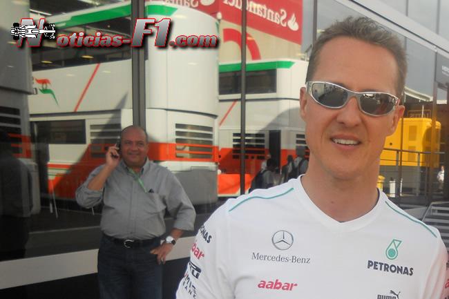Michael Schumacher - www.noticias-f1.com