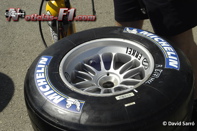 Michelin F1 - David Sarró - www.noticias-f1.com