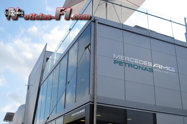 Motorhome Mercedes - Logo -www.noticias-f1.com
