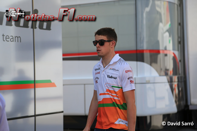 Paul di Resta - David Sarró - www.noticias-f1.com