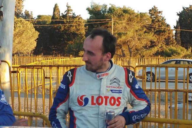 Robert Kubica - Rally Acrópolis