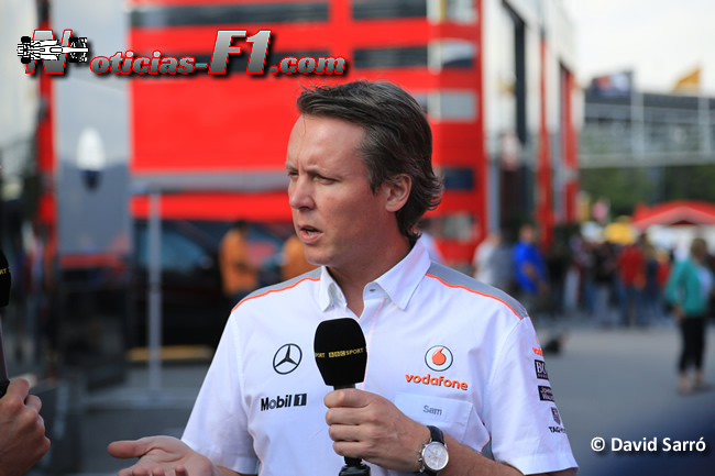 Sam Michael - McLaren - David Sarró - www.noticias-f1.com