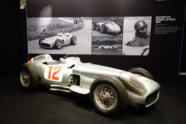 Juan Manuel Fangio - Mercedes W196