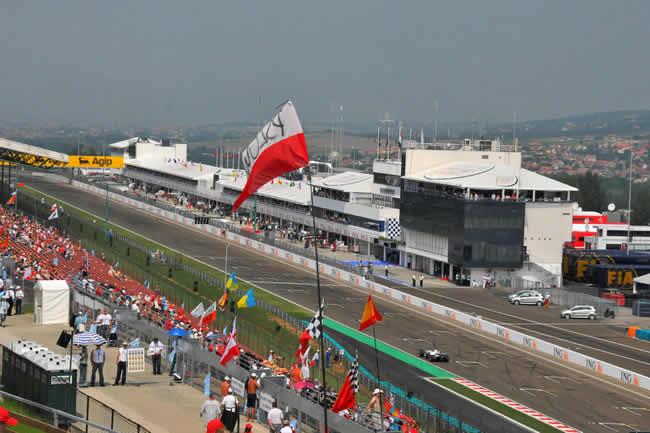 Circuito Hungaroring - GP Hungría