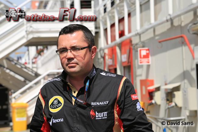 Eric Boullier - David Sarró - www.noticias-f1.com