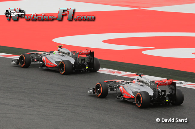 McLaren - Jenson Button - Sergio Pérez - David Sarró - www.noticias-f1.com
