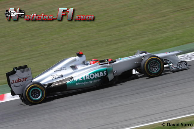 Michael Schumacher - 2012- David Sarró - www.noticias-f1.com