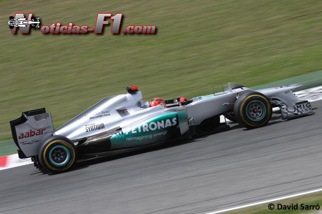 Michael Schumacher - 2012- David Sarró - www.noticias-f1.com