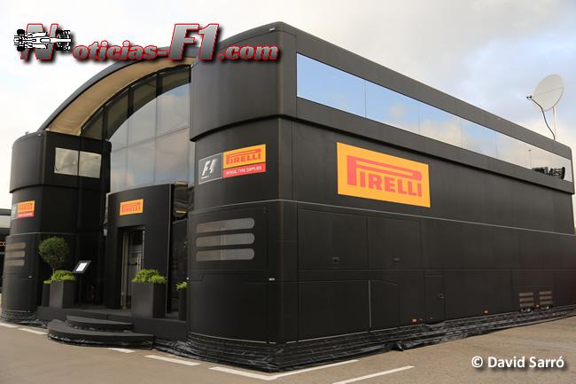 Pirelli - Motorhome - David Sarró - www.noticias-f1.com