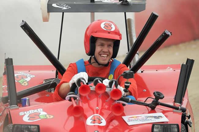 Sebastian Vettel - Super Seb - Mario Kart
