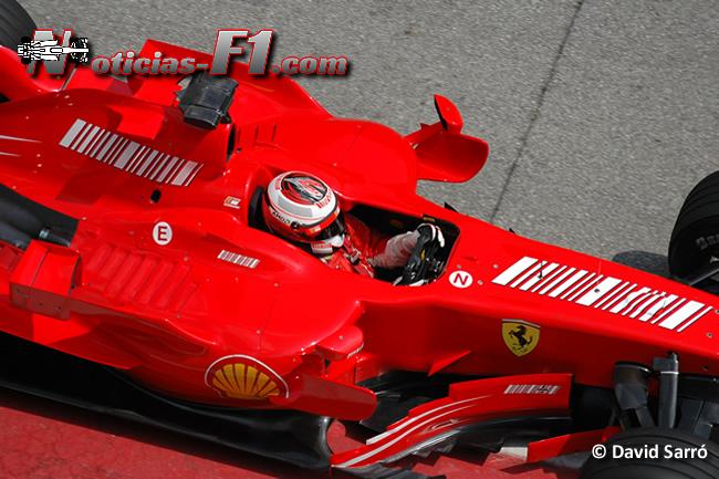 Kimi Räikkönen- 2007 - Ferrari - David Sarró - www.noticias-f1.com