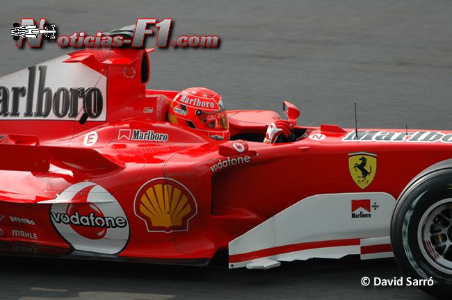 Michael Schumacher - 2005 - David Sarró - www.noticias-f1.com