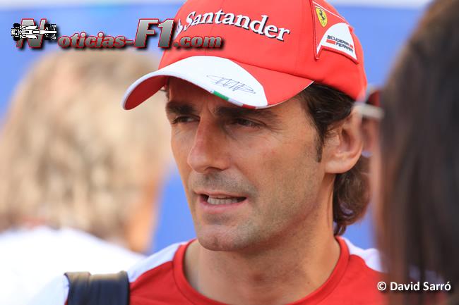 Pedro de la Rosa - David Sarró - www.noticias-f1.com
