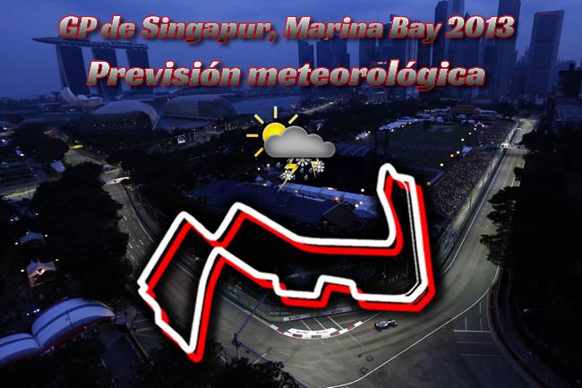 Gran Premio Singapur 2013. Marina Bay - Previsión Meteorológica