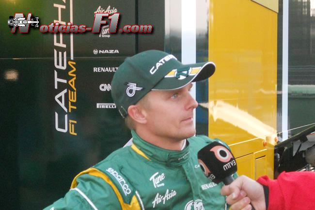 Heikki Kovalainen - www.noticias-f1.com