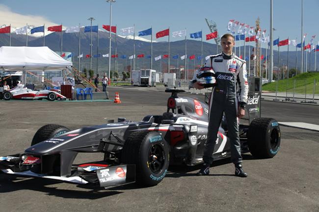 Sergey Sirotkin - Sochi - Rusia