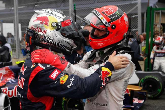Michael Schumacher - Sebastian Vettel - Brasil 2012