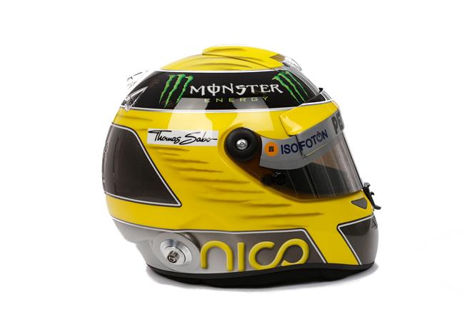 Nico Rosberg - Casco Robado