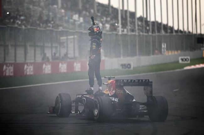 Sebastian Vettel - Victoria GP India - 4 título