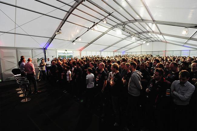 Celebración fábrica Red Bull - Cuarto Campeonato