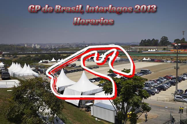 Gran Premio de Brasil - Interlagos - Horarios