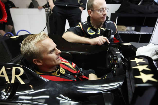 Heikki Kovalainen - Lotus F1 Team - 2013