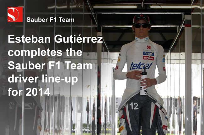 Esteban Gutiérrez - Sauber 2014